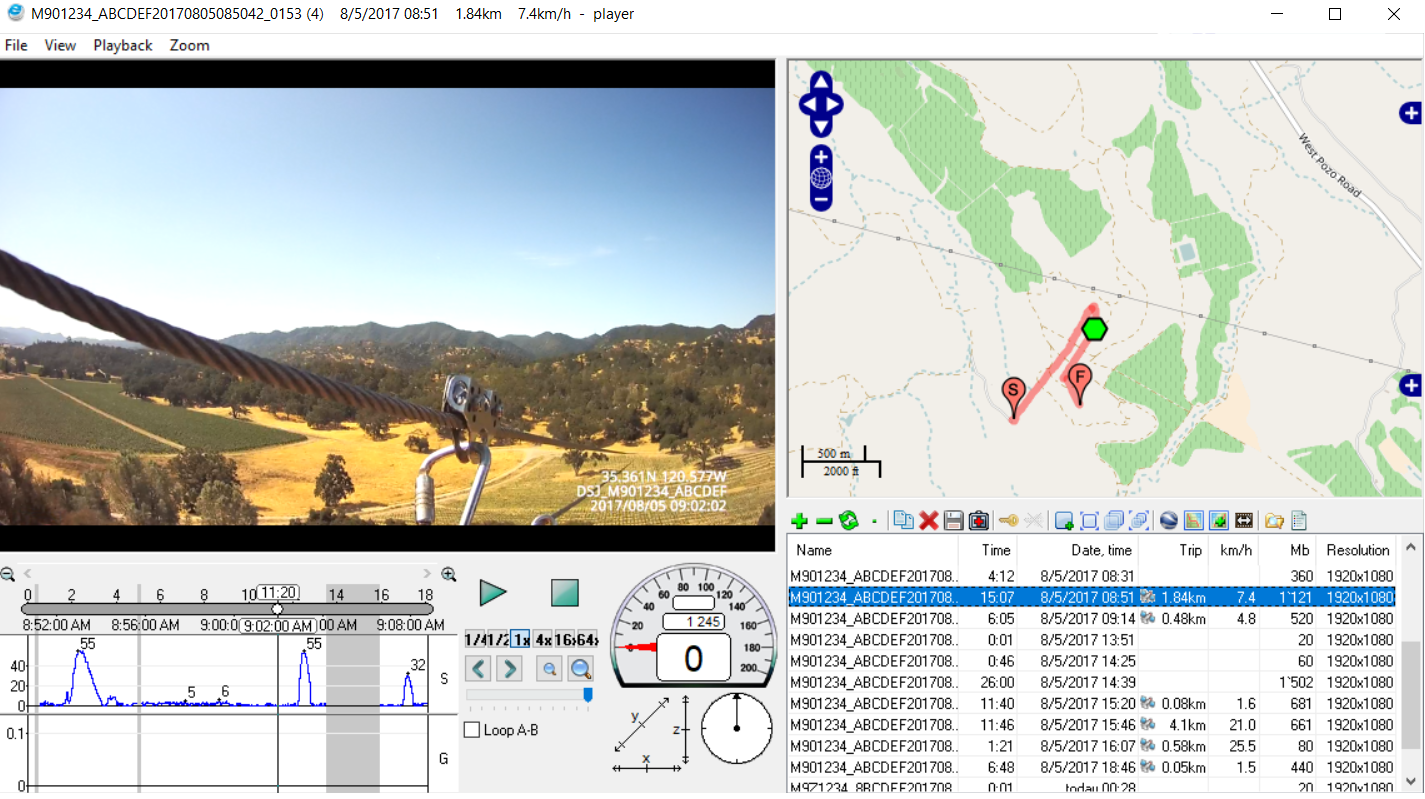 GPS viewer opersource software